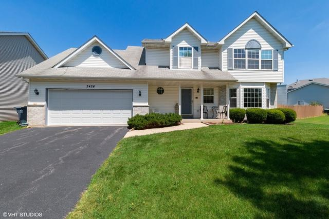 2426 Silver Rock Drive, Crest Hill, IL 60403 (MLS #10437932) :: Berkshire Hathaway HomeServices Snyder Real Estate