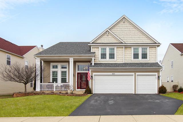 445 Chesterfield Lane, North Aurora, IL 60542 (MLS #10439082) :: The Wexler Group at Keller Williams Preferred Realty