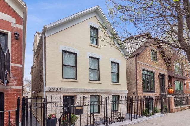 2223 W Charleston Street, Chicago, IL 60647 (MLS #10440642) :: The Perotti Group | Compass Real Estate