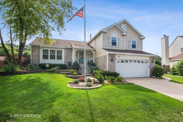 13 Blackberry Court, Streamwood, IL 60107 (MLS #10441095) :: The Wexler Group at Keller Williams Preferred Realty