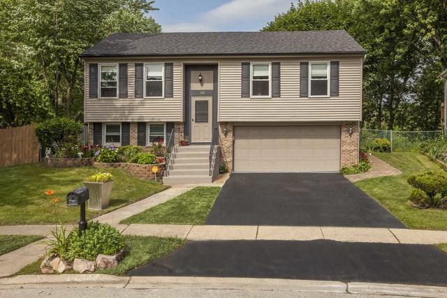 520 Glenmore Place, Roselle, IL 60172 (MLS #10444316) :: The Perotti Group | Compass Real Estate