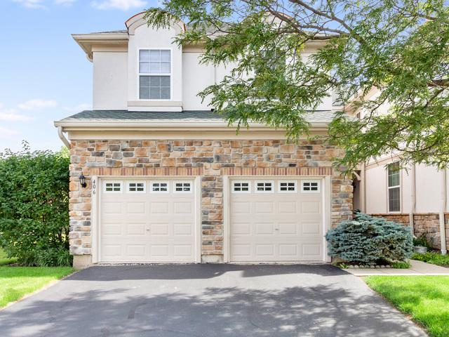 406 W Shadow Creek Drive #406, Vernon Hills, IL 60061 (MLS #10444901) :: The Wexler Group at Keller Williams Preferred Realty