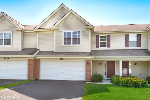 2226 Pembridge Drive #2226, Lake In The Hills, IL 60156 (MLS #10446555) :: Ani Real Estate