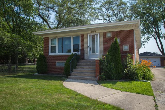 8403 N Greenwood Avenue, Niles, IL 60714 (MLS #10446621) :: Ani Real Estate