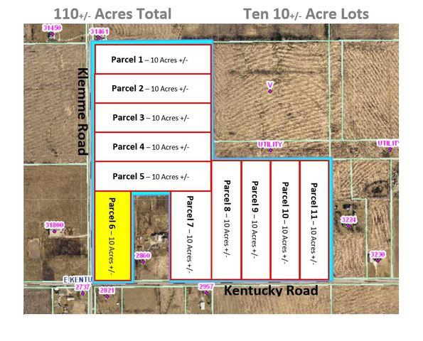 Parcel 6 - Kentucky Rd./Klemme Road, Beecher, IL 60401 (MLS #10448851) :: Berkshire Hathaway HomeServices Snyder Real Estate