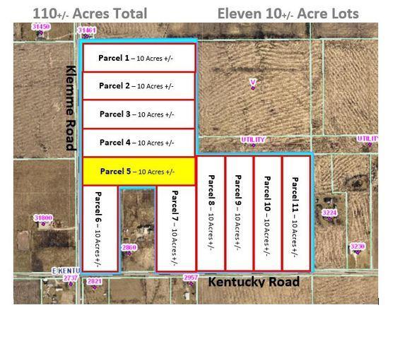 Parcel 5 - Kentucky Rd./Klemme Road, Beecher, IL 60401 (MLS #10448970) :: Property Consultants Realty