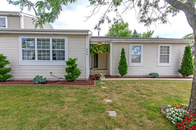 424 Farmbrook Court #424, Romeoville, IL 60446 (MLS #10449477) :: Property Consultants Realty