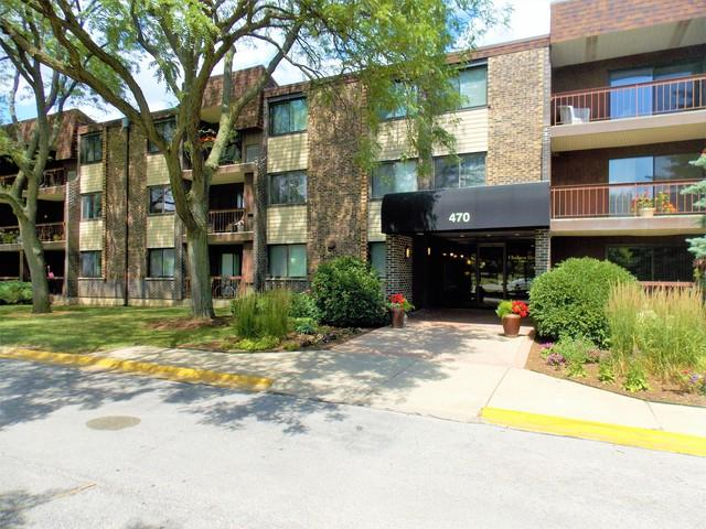 470 Raintree Court 1P, Glen Ellyn, IL 60137 (MLS #10450580) :: John Lyons Real Estate