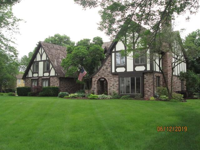 731 Camelot Drive, Burr Ridge, IL 60527 (MLS #10450654) :: Berkshire Hathaway HomeServices Snyder Real Estate