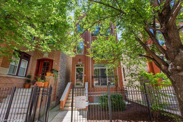 2713 W Augusta Boulevard #2, Chicago, IL 60622 (MLS #10451107) :: The Perotti Group | Compass Real Estate
