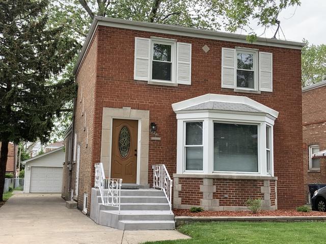 9120 S Utica Avenue, Evergreen Park, IL 60805 (MLS #10451337) :: The Perotti Group | Compass Real Estate