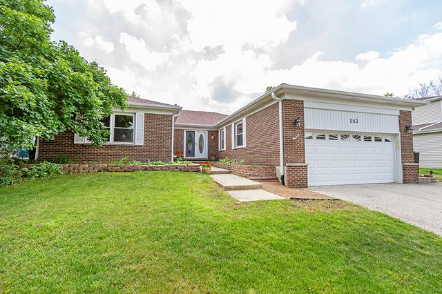 583 Applegate Lane, Lake Zurich, IL 60047 (MLS #10451343) :: Angela Walker Homes Real Estate Group