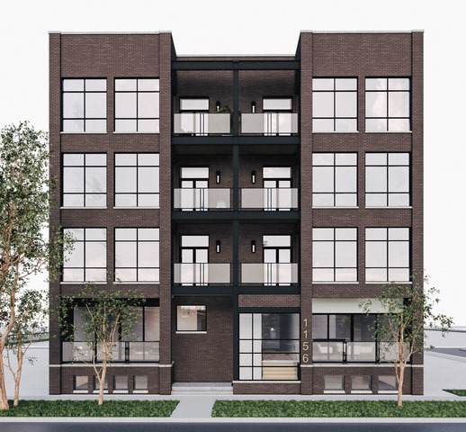 1156 W Ohio Street 1E, Chicago, IL 60642 (MLS #10453234) :: Berkshire Hathaway HomeServices Snyder Real Estate