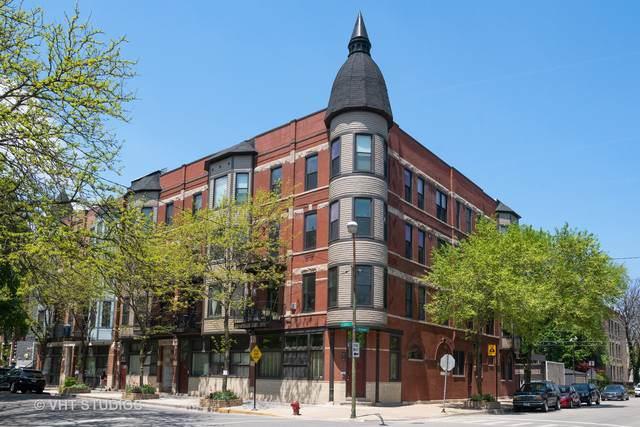1500 W Ohio Street #1, Chicago, IL 60642 (MLS #10453737) :: Baz Realty Network | Keller Williams Elite