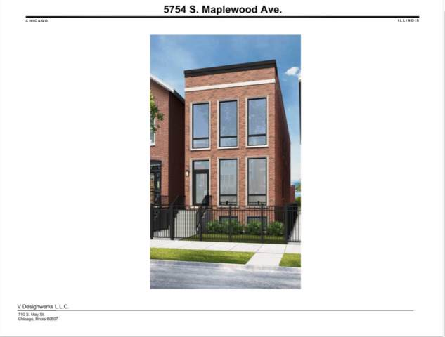 5754 S Maplewood Avenue, Chicago, IL 60629 (MLS #10453869) :: The Perotti Group | Compass Real Estate