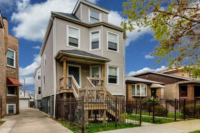 3841 Bernard Street, Chicago, IL 60618 (MLS #10454493) :: The Perotti Group | Compass Real Estate