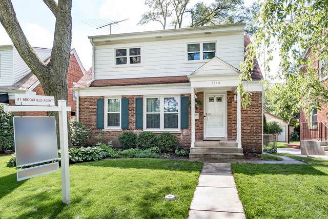 3740 Blanchan Avenue, Brookfield, IL 60513 (MLS #10454584) :: Property Consultants Realty