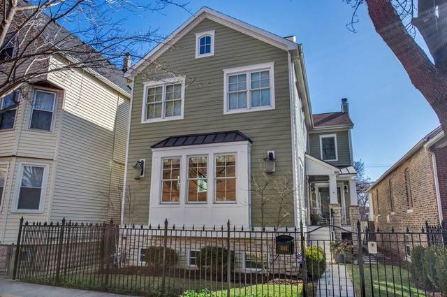 3133 N Hoyne Avenue, Chicago, IL 60618 (MLS #10455196) :: The Perotti Group | Compass Real Estate