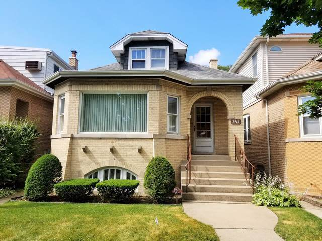 5916 N Newburg Avenue, Chicago, IL 60631 (MLS #10455381) :: The Perotti Group | Compass Real Estate