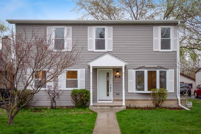 645 N Vista Avenue, Lombard, IL 60148 (MLS #10455482) :: The Dena Furlow Team - Keller Williams Realty