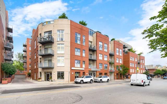 1236 Chicago Avenue #609, Evanston, IL 60202 (MLS #10455615) :: The Perotti Group   Compass Real Estate