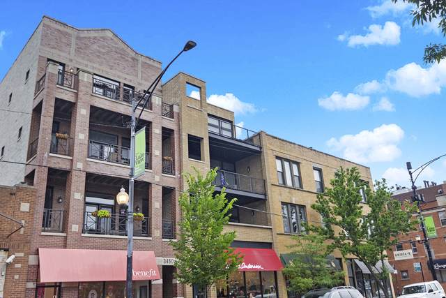3450 N Southport Avenue #3, Chicago, IL 60657 (MLS #10455883) :: The Perotti Group | Compass Real Estate
