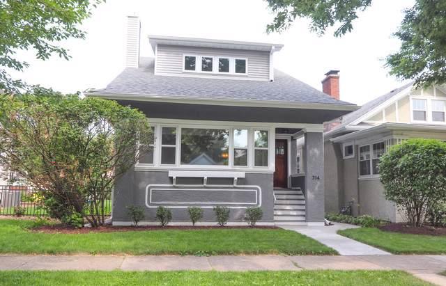 714 N Lombard Avenue, Oak Park, IL 60302 (MLS #10455956) :: Property Consultants Realty
