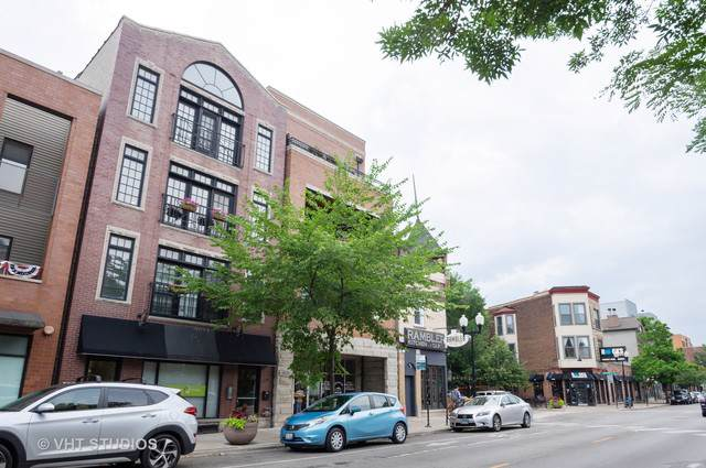 4124 N Lincoln Avenue #4, Chicago, IL 60618 (MLS #10456461) :: John Lyons Real Estate