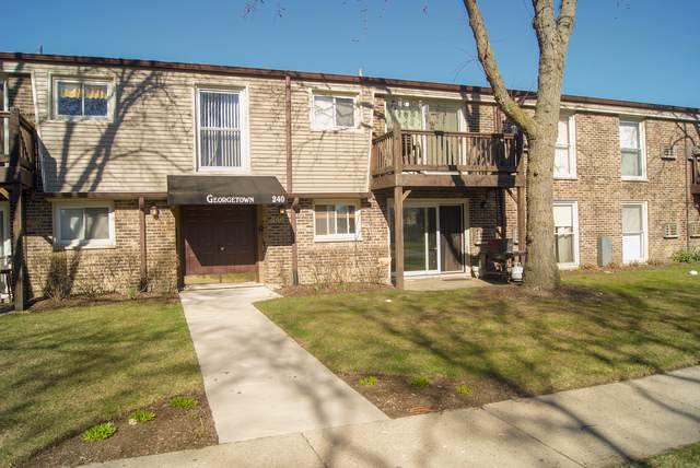 240 N Carter Street #102, Palatine, IL 60067 (MLS #10456590) :: Century 21 Affiliated