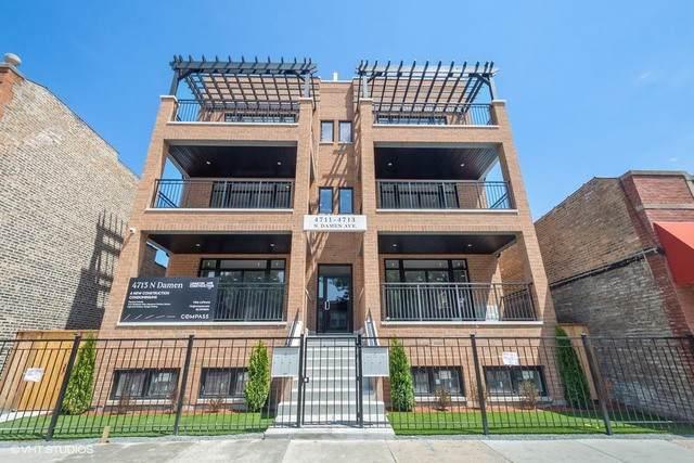 4711 N Damen Avenue 2S, Chicago, IL 60625 (MLS #10456686) :: John Lyons Real Estate