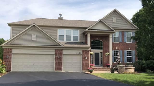 1590 Mcclellan Drive, Lindenhurst, IL 60046 (MLS #10456822) :: The Dena Furlow Team - Keller Williams Realty