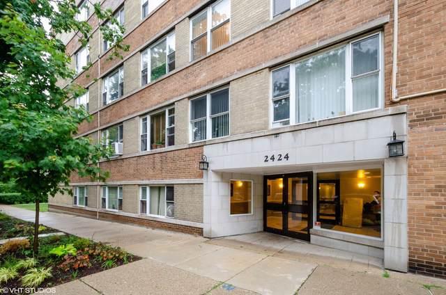 2424 W Estes Avenue 4H, Chicago, IL 60645 (MLS #10457707) :: Berkshire Hathaway HomeServices Snyder Real Estate