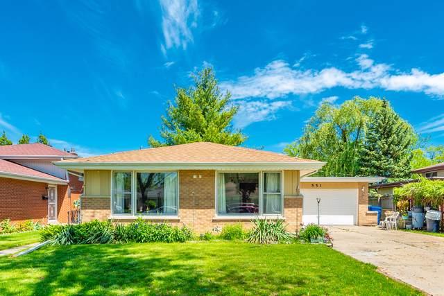 551 Bedford Lane, Des Plaines, IL 60016 (MLS #10458464) :: Berkshire Hathaway HomeServices Snyder Real Estate