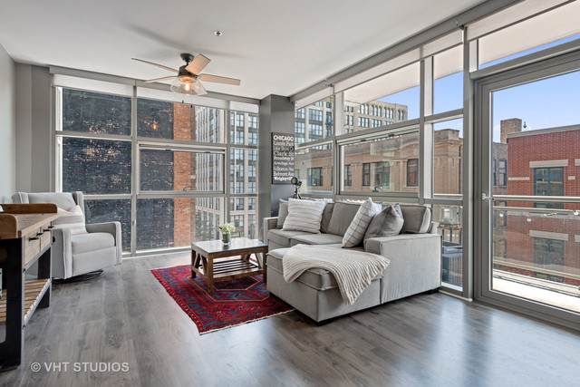225 S Sangamon Street #506, Chicago, IL 60607 (MLS #10458864) :: Berkshire Hathaway HomeServices Snyder Real Estate