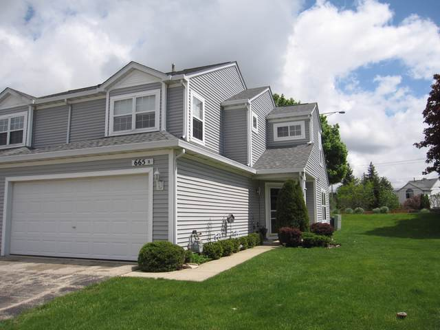 665 Fieldcrest Drive B, South Elgin, IL 60177 (MLS #10469765) :: The Wexler Group at Keller Williams Preferred Realty
