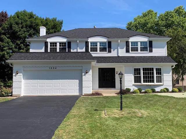 1334 W Hampton Place, Palatine, IL 60067 (MLS #10470935) :: Baz Realty Network | Keller Williams Elite