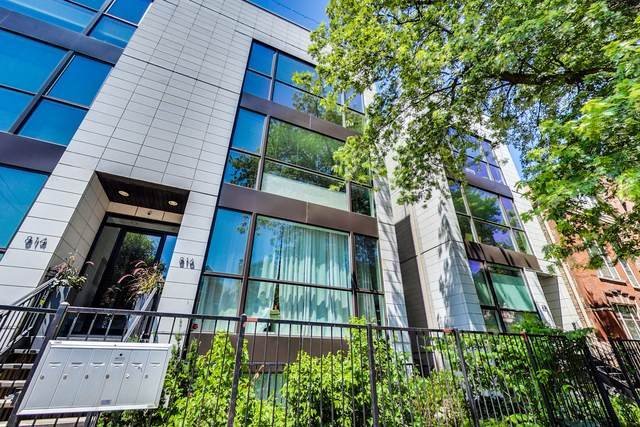 816 N Wood Street 3N, Chicago, IL 60622 (MLS #10479040) :: Berkshire Hathaway HomeServices Snyder Real Estate