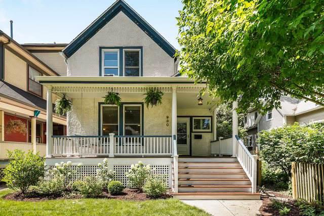 930 Elmwood Avenue, Evanston, IL 60202 (MLS #10479949) :: Century 21 Affiliated