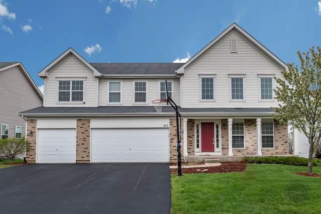 617 Mansfield Way, Oswego, IL 60543 (MLS #10480156) :: O'Neil Property Group