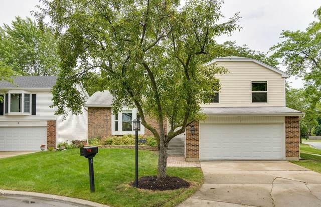 1 Oakmont Court, Streamwood, IL 60107 (MLS #10480360) :: The Wexler Group at Keller Williams Preferred Realty