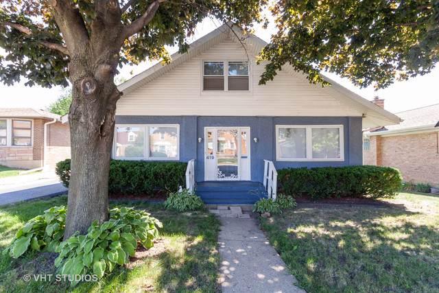 419 N Taft Avenue, Hillside, IL 60162 (MLS #10483086) :: Berkshire Hathaway HomeServices Snyder Real Estate