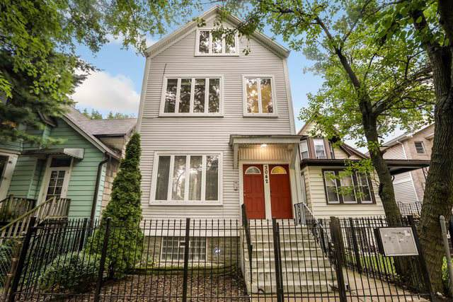3042 N Christiana Avenue #2, Chicago, IL 60618 (MLS #10483491) :: Angela Walker Homes Real Estate Group