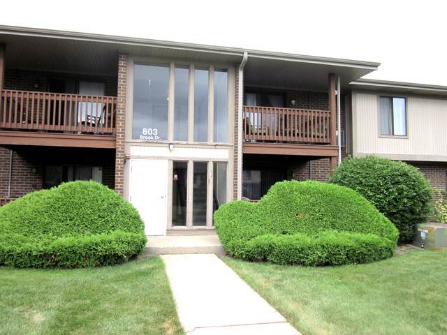 803 Brook Drive #7, Streamwood, IL 60107 (MLS #10484118) :: The Wexler Group at Keller Williams Preferred Realty