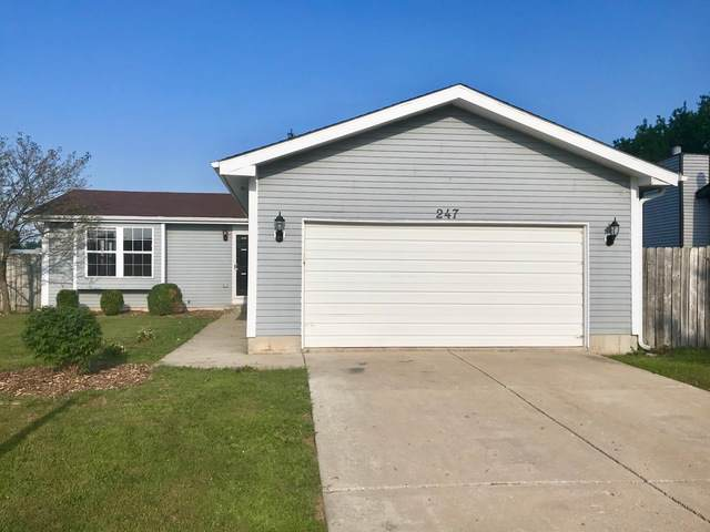 247 Willow Road, Matteson, IL 60443 (MLS #10484506) :: Angela Walker Homes Real Estate Group