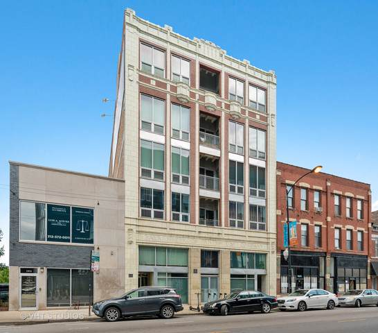 1927 N Milwaukee Avenue #501, Chicago, IL 60647 (MLS #10486490) :: The Perotti Group | Compass Real Estate