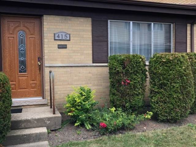 415 Glenshire Road #415, Glenview, IL 60025 (MLS #10486651) :: Century 21 Affiliated