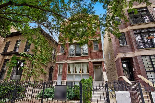 3217 N Kenmore Avenue #1, Chicago, IL 60657 (MLS #10487363) :: Property Consultants Realty