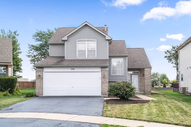 106 Hamlet Circle, Montgomery, IL 60538 (MLS #10487928) :: Property Consultants Realty