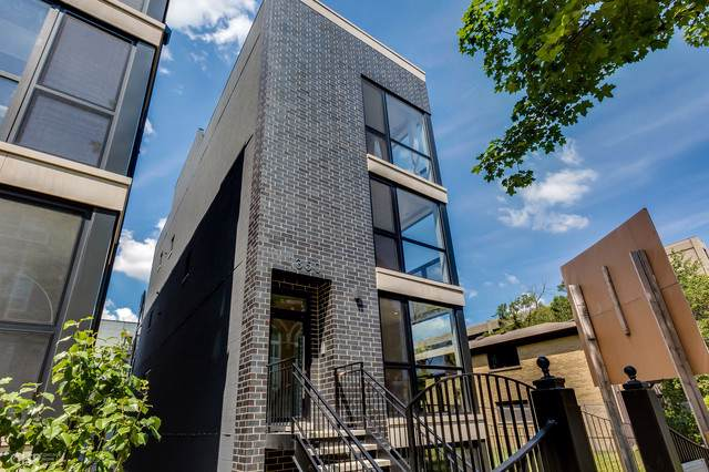 1350 N Claremont Avenue #1, Chicago, IL 60622 (MLS #10488263) :: The Perotti Group | Compass Real Estate