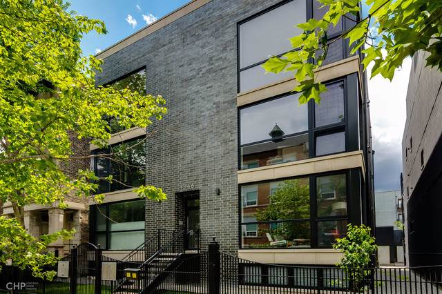 1346 N Claremont Avenue 3N, Chicago, IL 60622 (MLS #10488316) :: The Perotti Group | Compass Real Estate